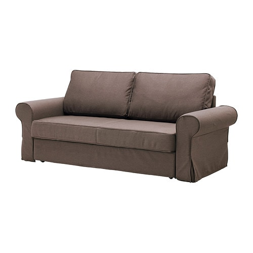 Backabro marieby convertible 3 places jonsboda brun ikea - Convertible 2 places ikea ...