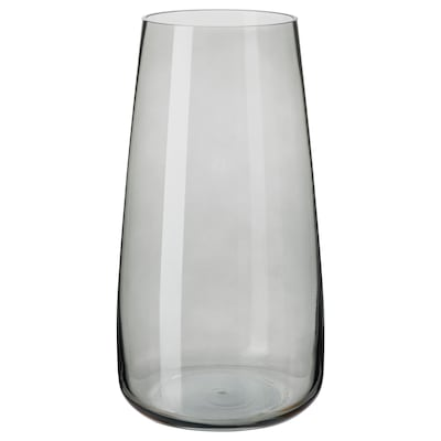 BERÄKNA Vase, gris clair, 30 cm