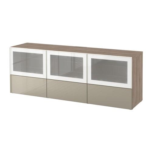 Best banc tv avec portes et tiroirs motif noyer teint for Glissiere porte coulissante meuble