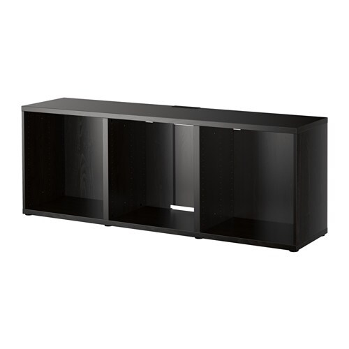 best banc tv brun noir ikea. Black Bedroom Furniture Sets. Home Design Ideas