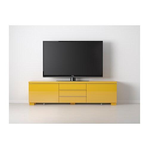 meuble tv ikea jaune – Artzeincom -> Meuble Jaune