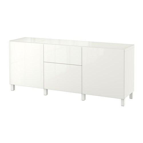 best combi rgt portes tiroirs blanc selsviken brillant. Black Bedroom Furniture Sets. Home Design Ideas