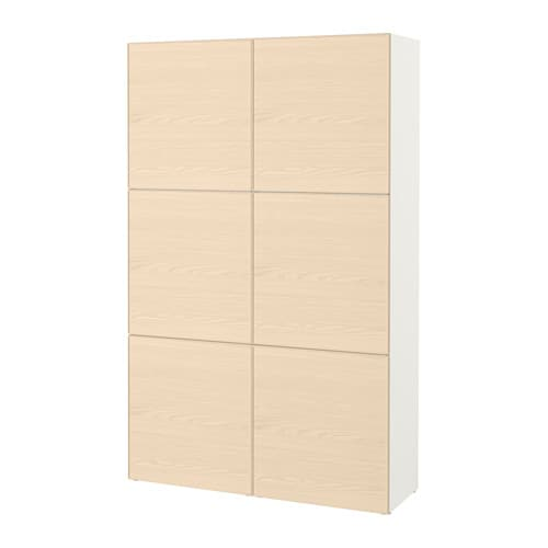 best combinaison rangement portes blanc inviken plaqu fr ne ikea. Black Bedroom Furniture Sets. Home Design Ideas