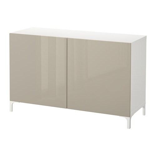 best combinaison rangement portes blanc selsviken brillant beige ikea. Black Bedroom Furniture Sets. Home Design Ideas