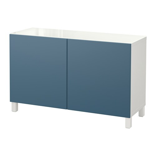 best combinaison rangement portes blanc valviken bleu fonc ikea. Black Bedroom Furniture Sets. Home Design Ideas