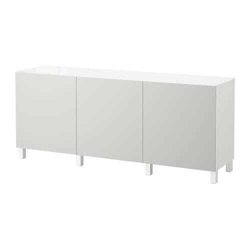 Best Combinaison Rangement Portes Blanc Lappviken Gris Clair Ikea