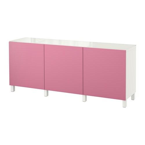 Best Combinaison Rangement Portes Blanc Lappviken Cerise Ikea