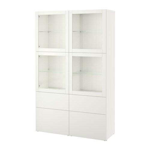 best combinaison rangement ptes vitr es lappviken sindvik blanc verre transparent glissi re. Black Bedroom Furniture Sets. Home Design Ideas