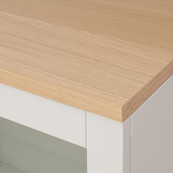 BESTÅ Combinaison rangement tiroirs, Sindvik blanc/Lappviken/Stubbarp blanc, 180x42x76 cm