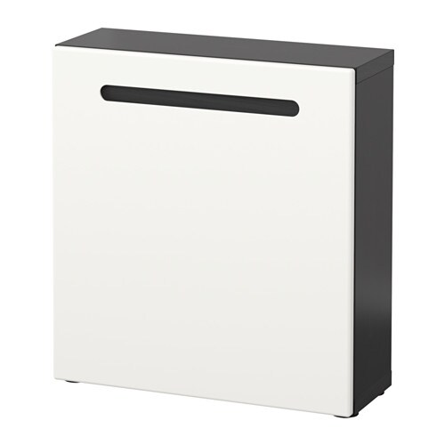 best tag re avec porte brun noir marviken blanc ikea. Black Bedroom Furniture Sets. Home Design Ideas