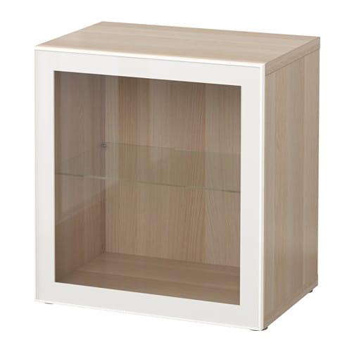 best tag re avec porte vitr e effet ch ne blanchi. Black Bedroom Furniture Sets. Home Design Ideas