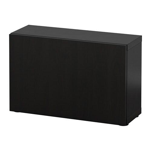 best tag re avec porte lappviken brun noir ikea. Black Bedroom Furniture Sets. Home Design Ideas