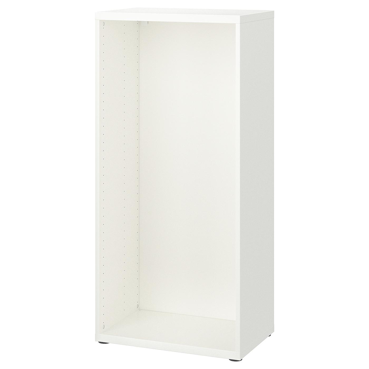 Meuble Ikea Besta Blanc bestÅ structure - blanc 60x40x128 cm