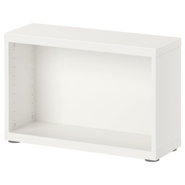 Besta Structure Blanc 60x20x38 Cm Ikea