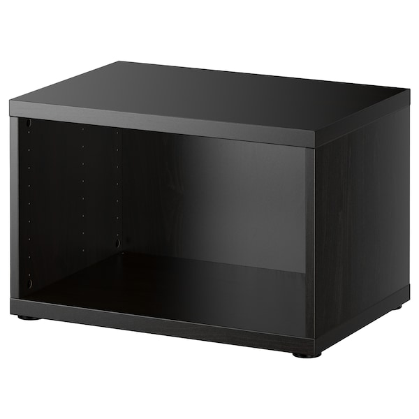 BESTÅ Structure, brun noir, 60x40x38 cm