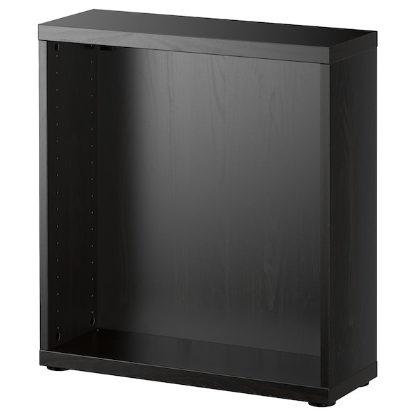 BESTÅ Structure, brun noir, 60x20x64 cm