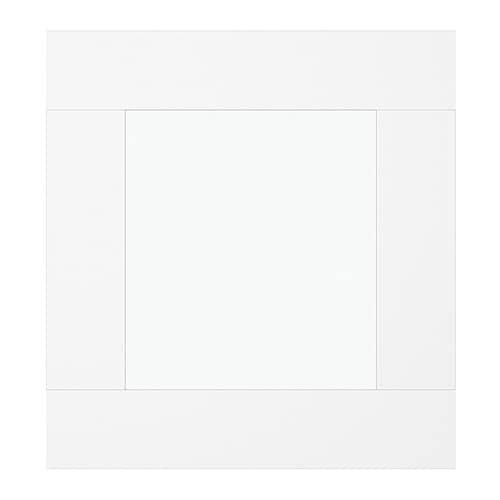 best vara porte vitr e verre transparent blanc ikea. Black Bedroom Furniture Sets. Home Design Ideas