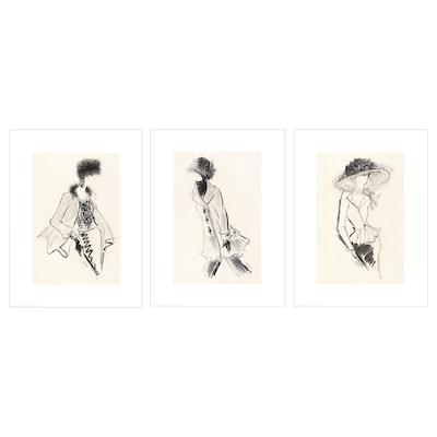BILD Image, Fashionista I-III, 30x40 cm