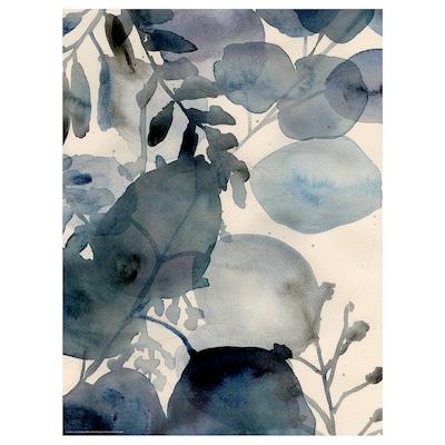 BILD Image, Forêt bleue I, 30x40 cm