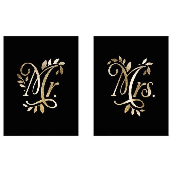 BILD Image, M. et Mme, 30x40 cm
