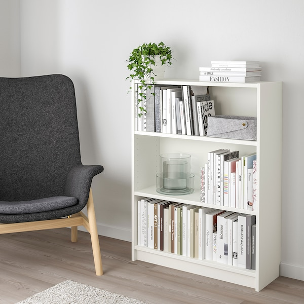 BILLY Bibliothèque, blanc, 80x28x106 cm