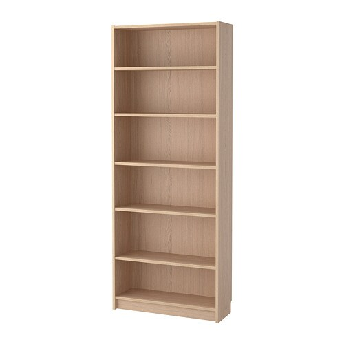 billy biblioth que plaqu ch ne blanchi ikea. Black Bedroom Furniture Sets. Home Design Ideas