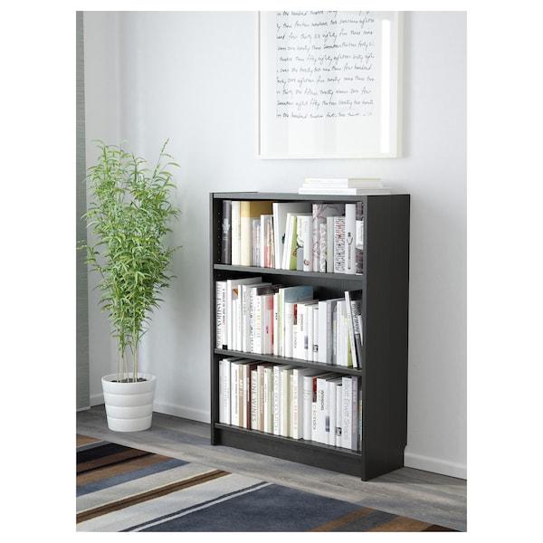 BILLY bibliothèque brun noir 80 cm 28 cm 106 cm 30 kg