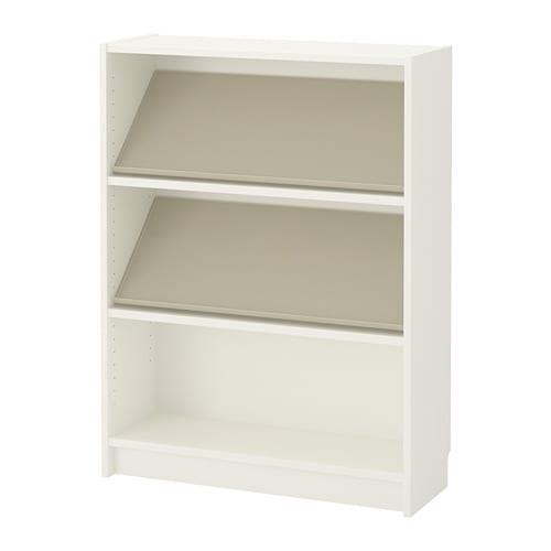 Billy Bottna Bibliothèque Av étagère De Présent Blancbeige Ikea
