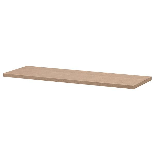 BILLY Tablette supplémentaire, plaqué chêne blanchi, 76x26 cm
