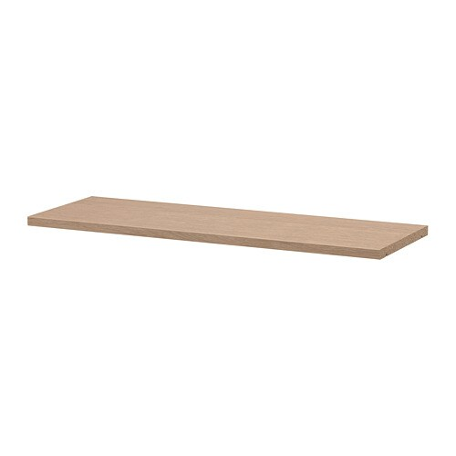 Billy Tablette Supplementaire Plaque Chene Blanchi Ikea