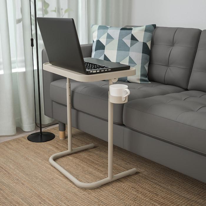 bjÖrkÅsen table pour ordinateur portable beige  ikea
