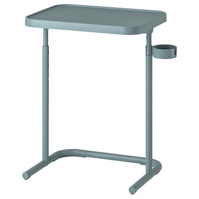 BJÖRKÅSEN Table pour ordinateur portable, turquoise