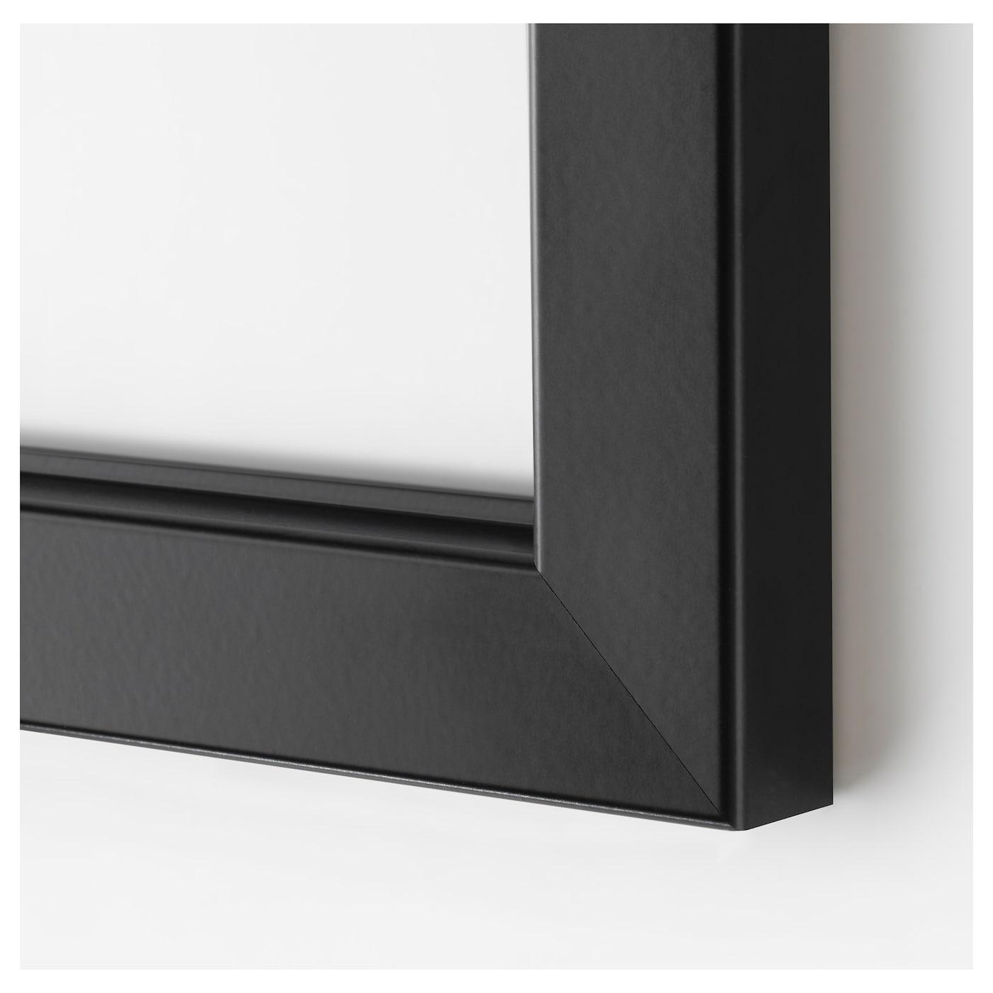 Cadre Photo Sur Pied Ikea bjÖrksta cadre - noir 78x118 cm