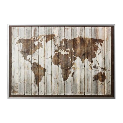 Bj rksta image avec cadre couleur aluminium ikea - Ikea quadri su tela ...