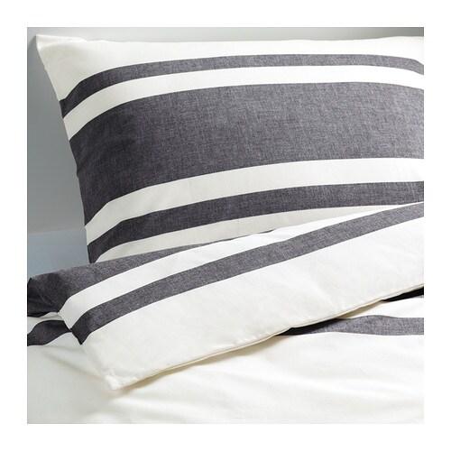 bj rnloka housse de couette et 2 taies 240x260 65x65 cm ikea. Black Bedroom Furniture Sets. Home Design Ideas