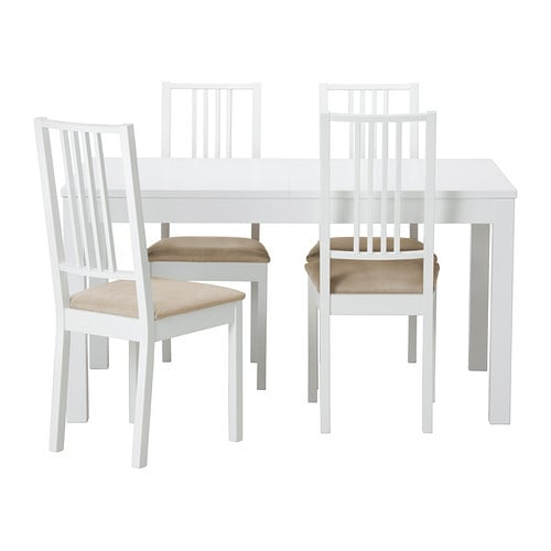 Bjursta b rje table et 4 chaises ikea for Table et chaise ikea