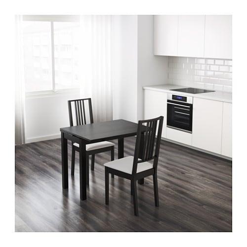 bjursta table extensible ikea. Black Bedroom Furniture Sets. Home Design Ideas