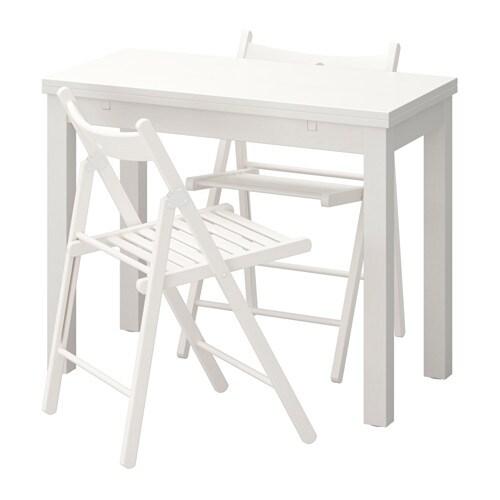 bjursta terje table et 2 chaises ikea. Black Bedroom Furniture Sets. Home Design Ideas