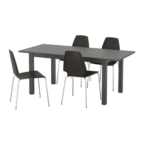 bjursta vilmar table et 4 chaises ikea. Black Bedroom Furniture Sets. Home Design Ideas