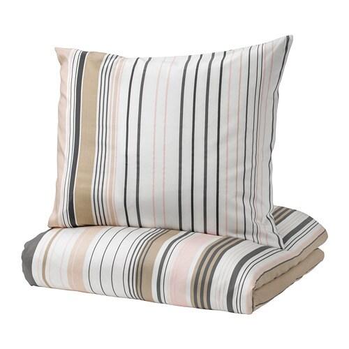 bl rips housse de couette et 2 taies 240x220 65x65 cm ikea. Black Bedroom Furniture Sets. Home Design Ideas