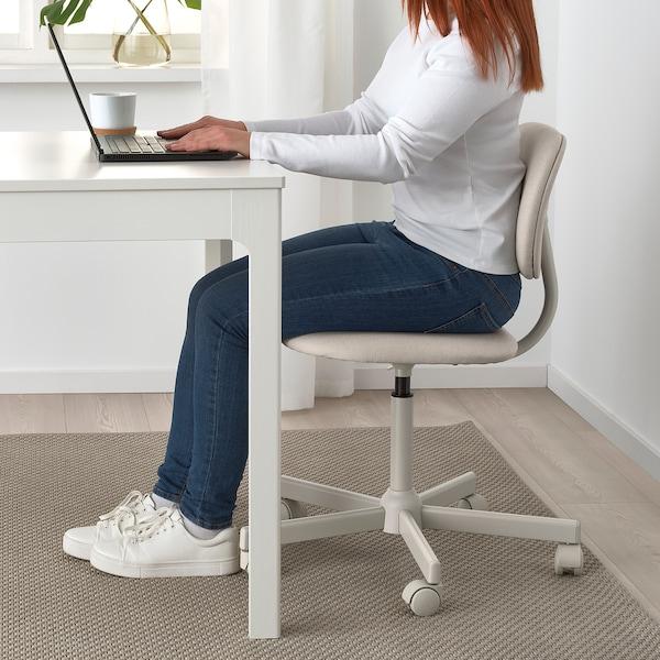 BLECKBERGET Chaise pivotante, Idekulla beige
