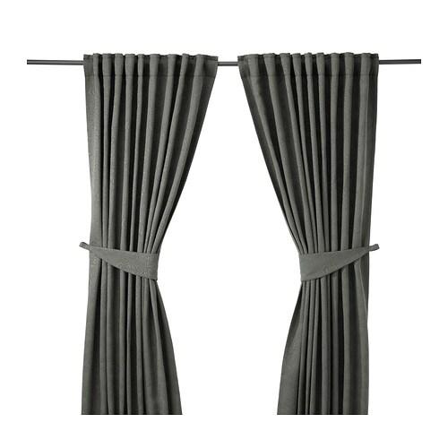 blekviva rideaux embrasses 1 paire ikea. Black Bedroom Furniture Sets. Home Design Ideas