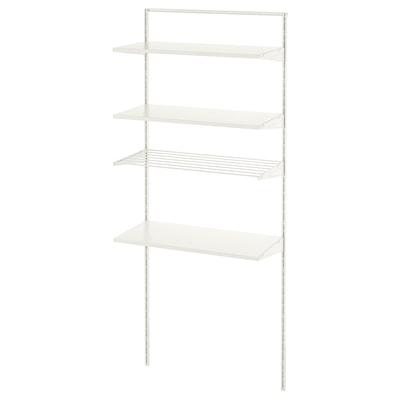 BOAXEL 1 section, blanc, 82x40x201 cm
