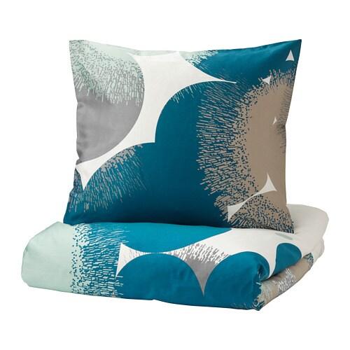 bolltistel housse de couette et 2 taies 240x220 65x65 cm ikea. Black Bedroom Furniture Sets. Home Design Ideas