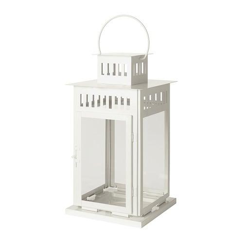 Borrby lanterne pour bougie bloc ikea - Lanterne bougie exterieur ...