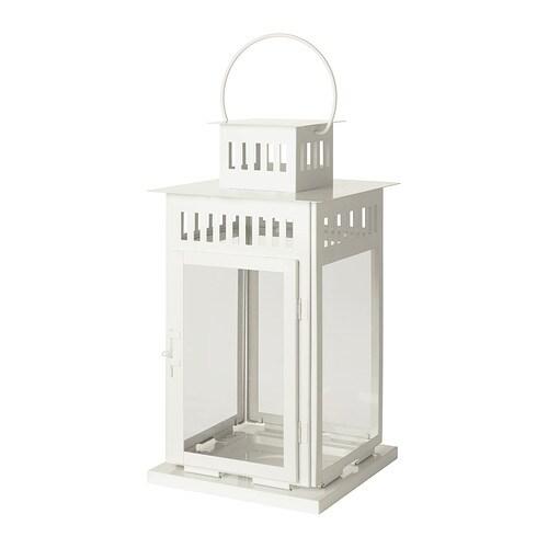Borrby lanterne pour bougie bloc ikea - Lanterne pour exterieur ...