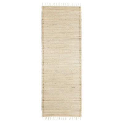 BOTANISK tapis tissé à plat banane fait main 200 cm 70 cm 1.40 m²