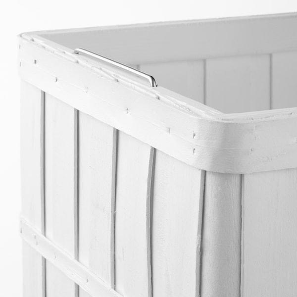 BRANKIS Panier, blanc, 36x27x23 cm