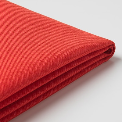BRÅTHULT Housse canapé 3 pl, Vissle rouge orange
