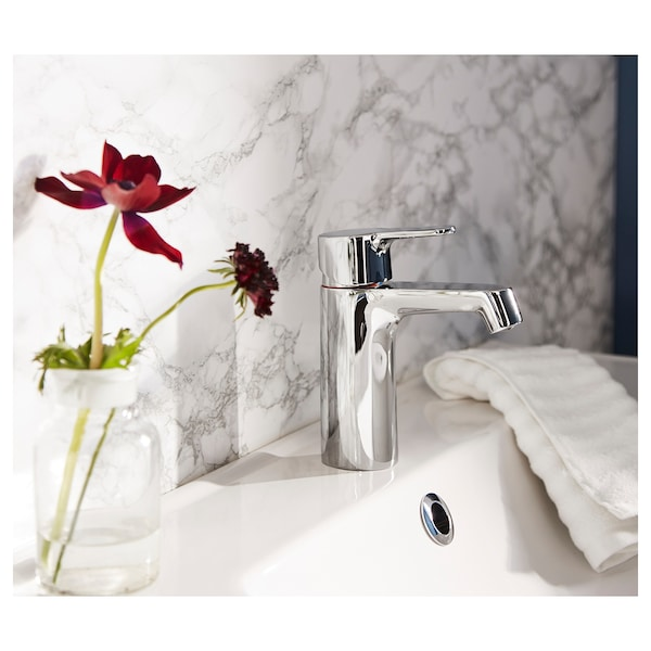 BROGRUND Mitigeur lavabo avec bonde, chromé